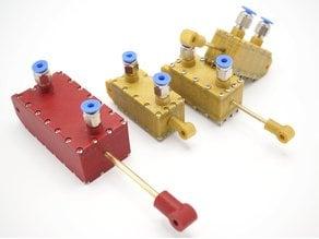 Parametric pneumatic cylinder