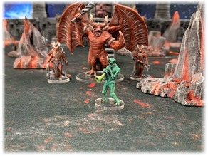 Kingdoms of Hell: Piper Demon (28mm/32mm scale)