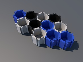 Hexagonal container
