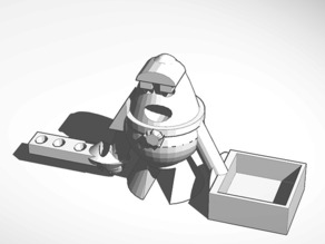 The pencil holding Spaceman
