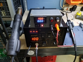 Soldering Station Power Supply Yihua 852D+ Modification