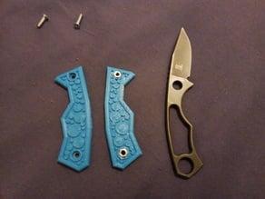 Knife scales for Boker 02 BO 265 Grashopper