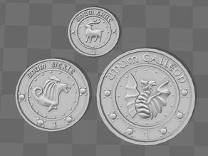 Gringotts Coins