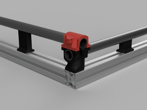MPCNC 4040 mid span supports