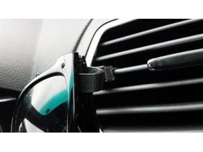 Customizable Car Vent Sunglass Holder v2.0