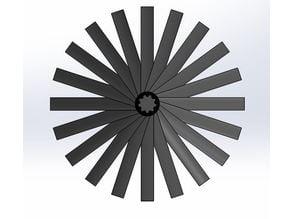 jet turbine blade