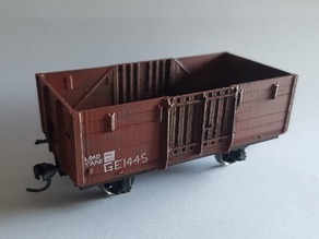 WAGR SN3.5 GE High Sided Wagon (AMRA)