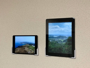 Universal Tablet Wall Mount with Stapler
