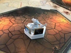 Gloomhaven Updated Character Miniature and Conditions Holder