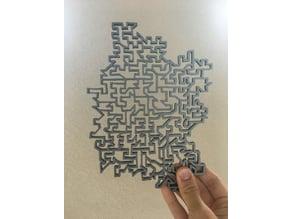 Geometric Doodle Wall Art