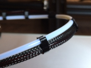 SDX's thinner Bowden and Cable Clip