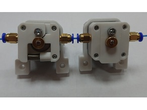 Compact direct drive extruder