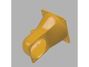 Cetus 3D Angeled 60 mm Fan Adapter 2