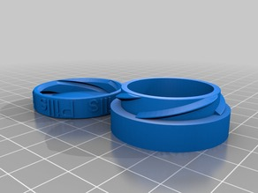 Pill container screw top scaled