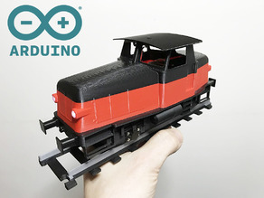 Z70 Locomotive for OS-Railway - fully 3D-printable railway system! Arduino-controlled!