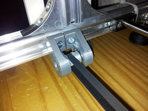 K8200 / 3DRAG X-Axis GT2 Belt Modification