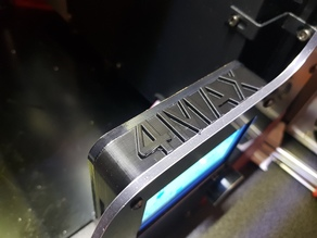Anycubic 4MAX  LCD Cover