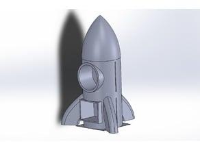 Funny Rocket Gift