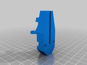 Kossel Z-probe mount by optical switch