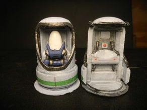 closed protectron pod