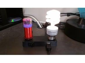 Tesla Desktop Lamp & Charging Station