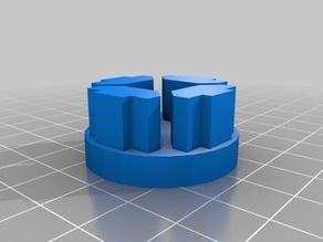 Hypercube Evolution Acousti foot 3030 extrusion
