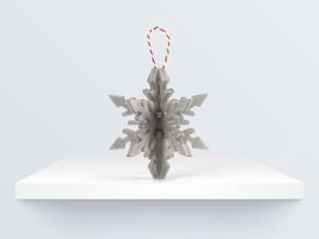 CHRISTMAS ORNAMENT: SNOWFLAKE