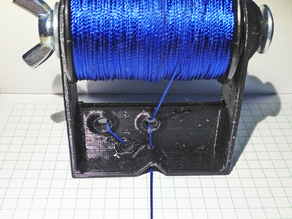 Bowstring winding device