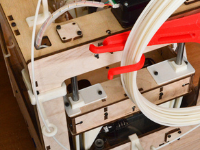 Filament guides for Thing-O-Matic