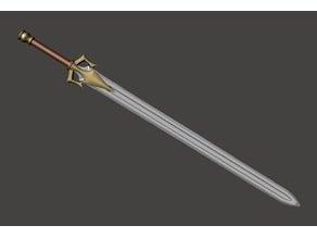 Sword Of Power (My Version) MOTU He-Man Greyskull Blade