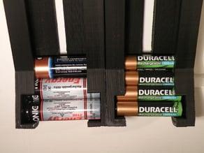 Parametric Cylindrical Battery Dispenser