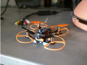 Proper guard for QX95 and other 8.5 motor Quad copter