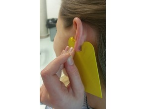 OT student project : earring insertion aid / aide à l'insertion de boucle d'oreille