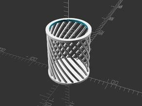 Spiral Pencil Holder