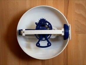 Clockwerk - A 3D Printed, Three-Axis Tourbillon