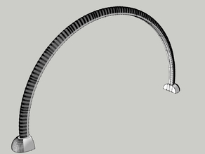Modern LED Arch Light