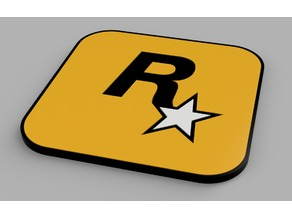 RockStar Games coaster
