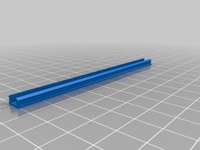 Customisable T-Slot or V-Slot Rail Cover