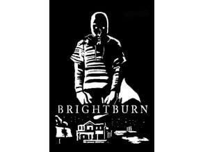 Brightburn stencil