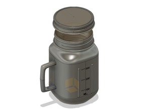 Mason jar style cup