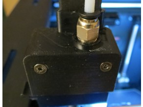 D6/MMU cable clip head cap with push-THROUGH connector