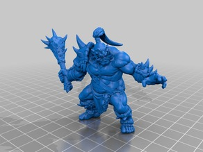 "Artisan Guild Patreon ""Ogre Marauder"" Sample"