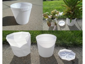 Planter, Vase, Container Factory (Customizable) Mk.2