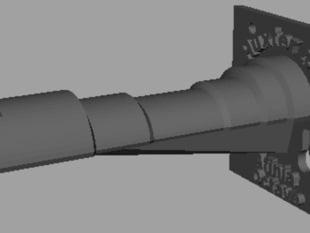 Huxter 3D Afinia/Octave Hybrid Spool Holder