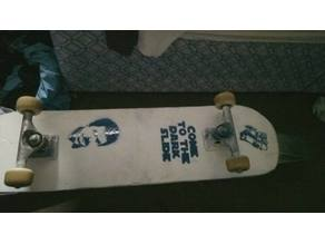 Ewok Skateboarding Stencil
