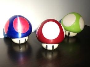 Super Mario Mushroom (multi material)
