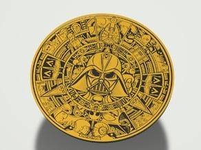 Star Wars Aztec Calendar Color Remix