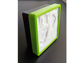 Picture frame for Mini Lithophane light Box - Simple