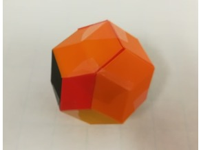 Puzzle, Golden Rhombohedra, Bilinski Dodecahedron, Rhomibc Triacontahedron
