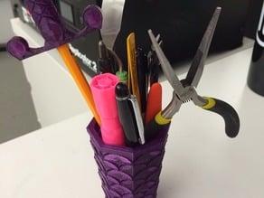 scallop vase/pencil holder